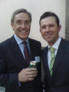 Tim & Friend (10,000 Test Runs between them...)